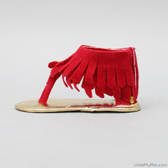 Ziggly Sandals - Red