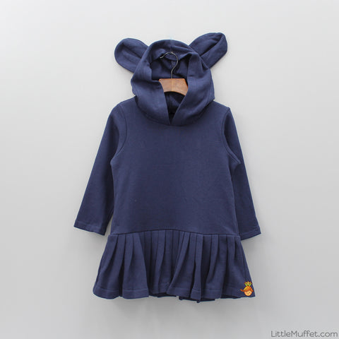 Bunny Hood Dress - Short