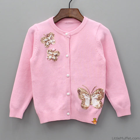 Shimmery Butterfly Jacket