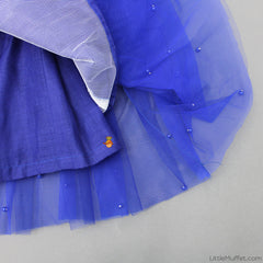 Pre Order: Royal Blue Butterfly Gown