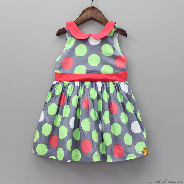 Peter Pan Polka Dress
