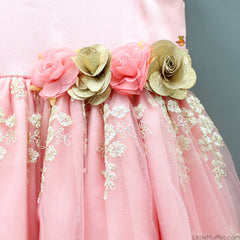Pre Order: Chantelle Gown - Peach Rose
