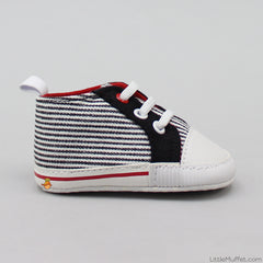 Stripy Sports Booties