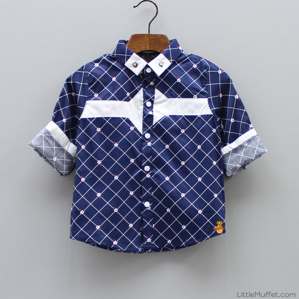 Bluejay Formal Party Shirt