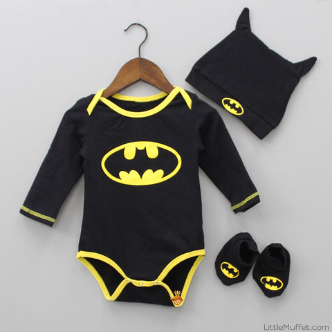Little Batman Bodysuit