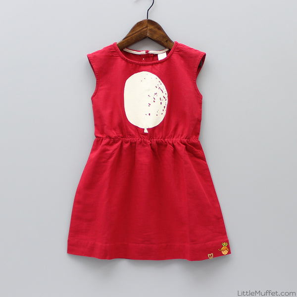Pre Order: Balloon Dress Red