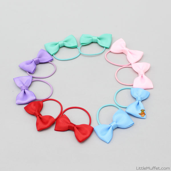 Little Bowy 10 Pieces Hair Ties Set - 1