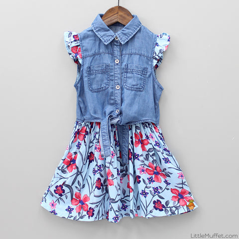 Denim Flowery Love