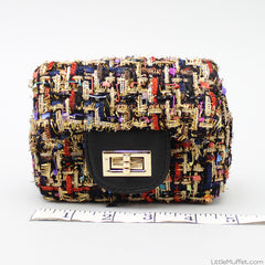 Multicolour Threaded Bag - 2