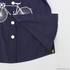 Embroidered Cycle Shirt
