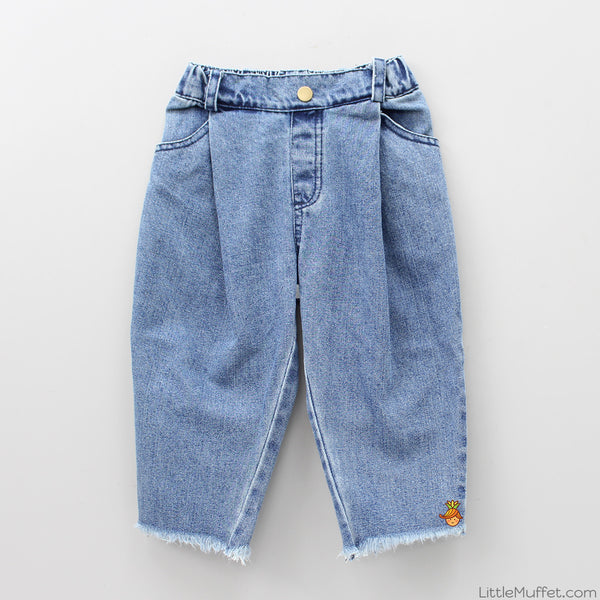 Stylish Denim Culottes