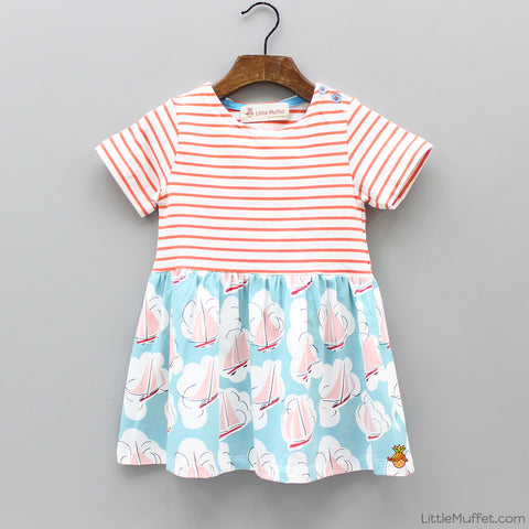 Sail Boat Dress