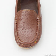 Brown Rock Loafers
