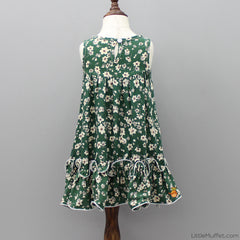 Daisy Green Dress