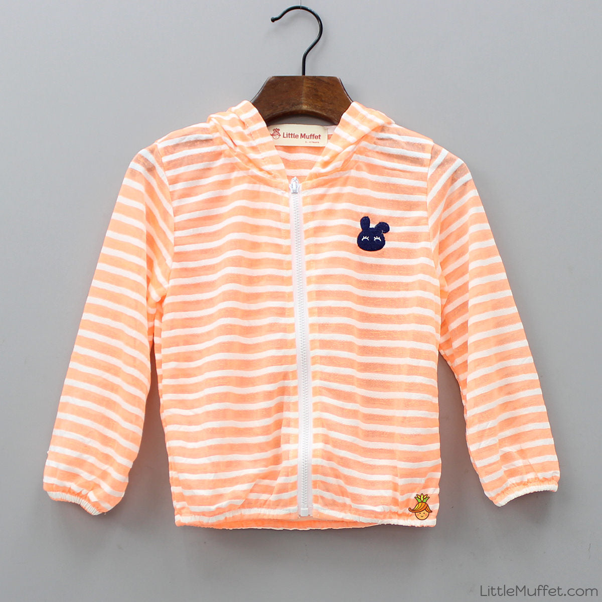 Orange Bunny Sun Jacket