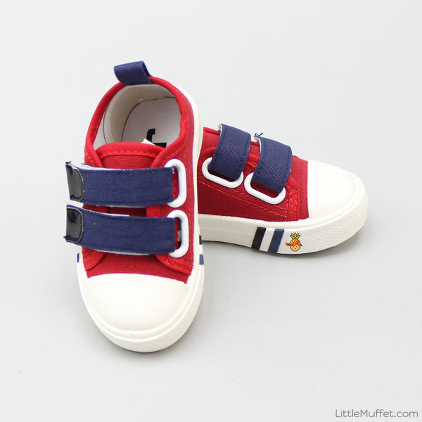 Classy Red & Navy Blue Shoes