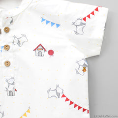 Pre Order: Puppy Party Romper