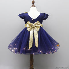 Pre Order: Royal Blue Light Up Dress