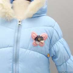 Blue Butterfly Jacket