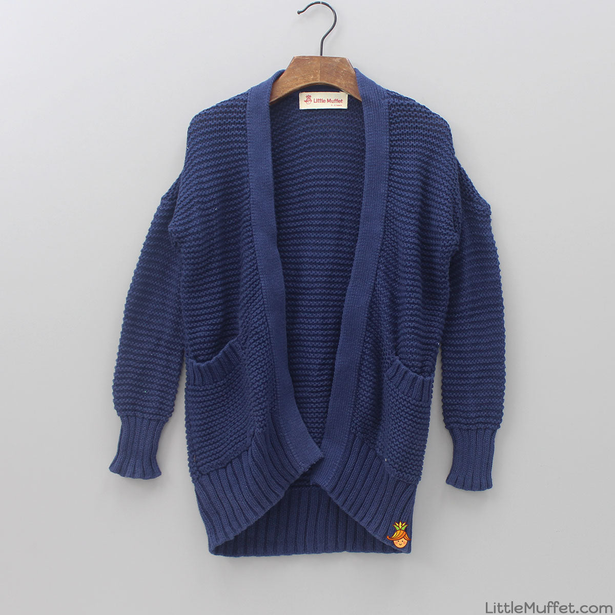 Cozy Navy Blue Sweater