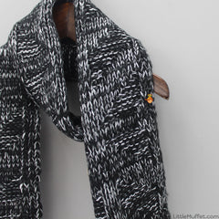 Pretty Black Scarf