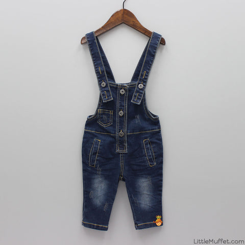 Denim Rockstar Dungaree