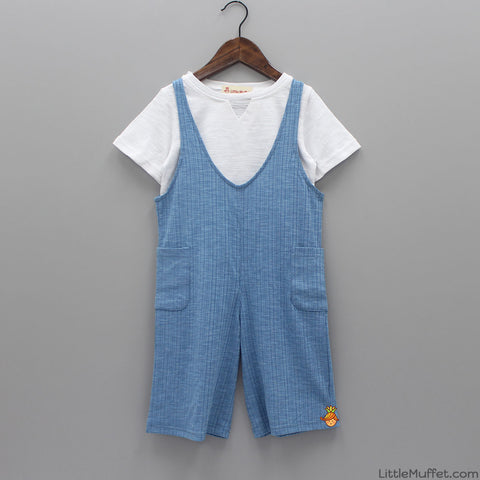 Smarty Blue Dungaree