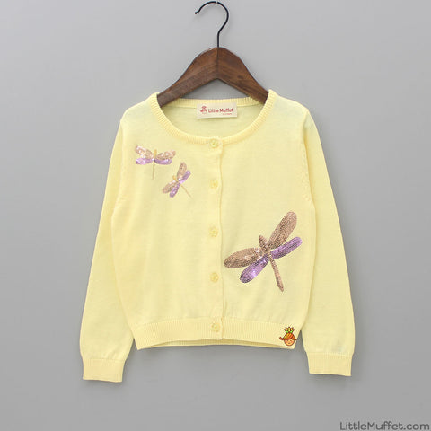Yellow Dragonfly Shrug