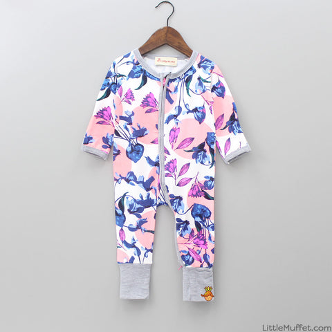 Multicolour Floral Bodysuit