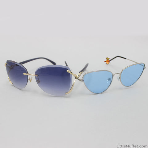Mom & Daughter Blue Shaded Sunglasses