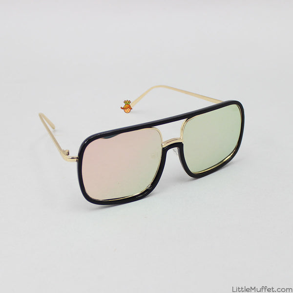 Black Rectangular Sunglasses