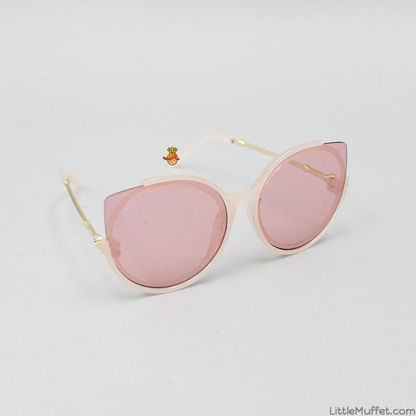 Cat Eyes Sunglasses - Pink