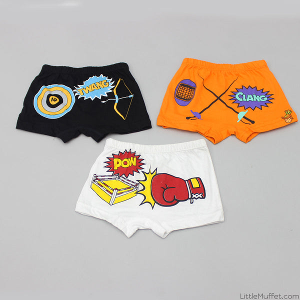 Indoor Sports - Boy Boxer Shorts