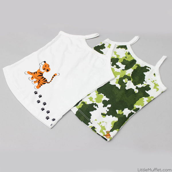Camouflage - Girl Vests