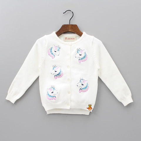 Sequin Unicorn Sweater