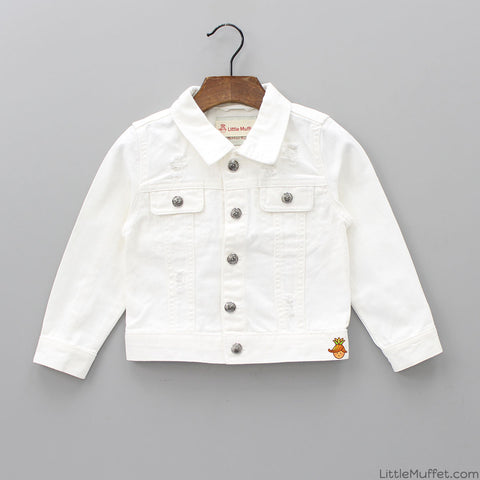 White Rugged Jacket