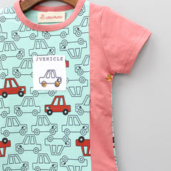 Button Wheel Car T-Shirt