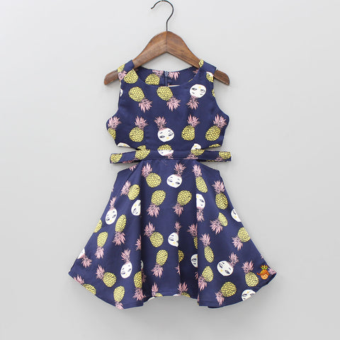 Quirky Pineapple Dress