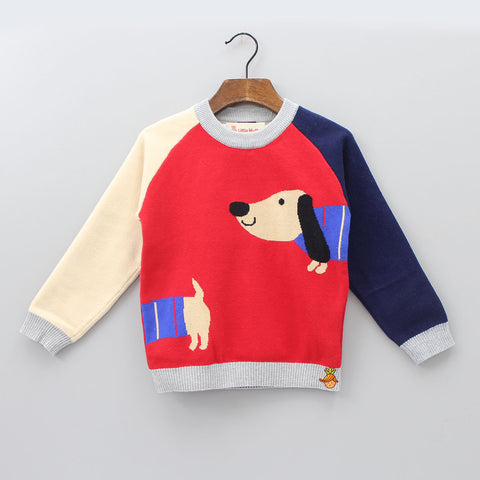 Puppy Hug Sweater