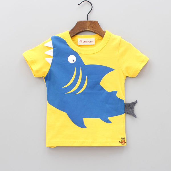 Crazy Shark T-Shirt