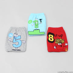Fun With Numbers - Boy Underwear