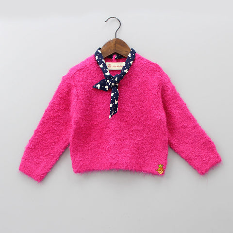 Knotty Pink Sweater