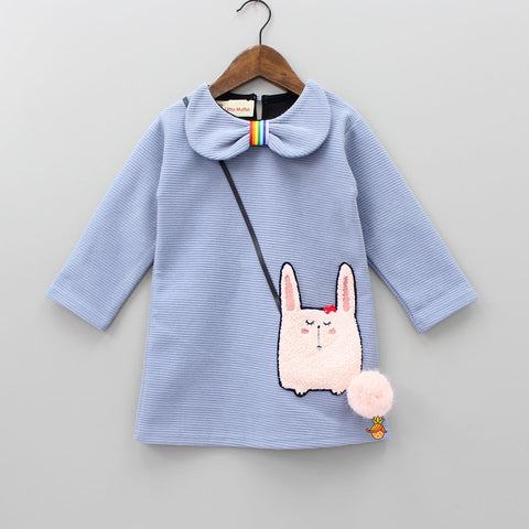 Blue Bunny Pocket Dress