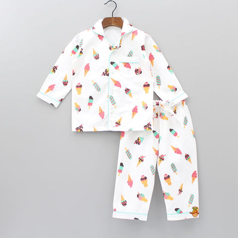 Ice-Cream Sleepwear Set