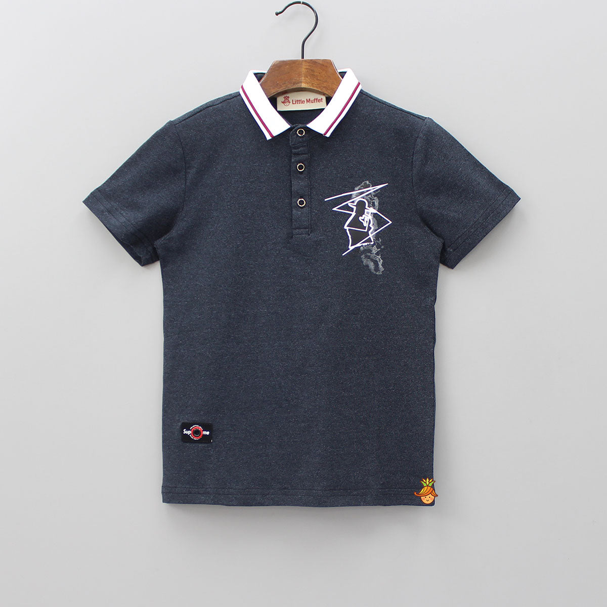 Dark Grey Polo