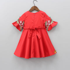 Red Rose Dress