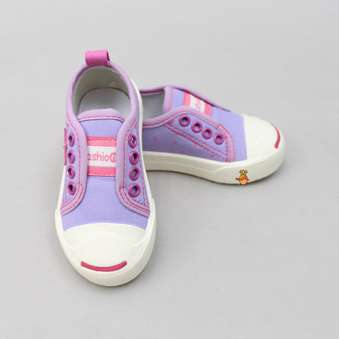 Lavender Starry Shoes