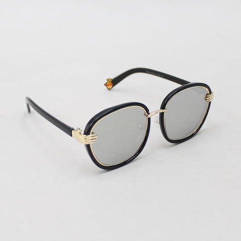 Silver Shaded Mirror Finish Sunglasses