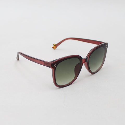 Green Shaded Square Sunglasses