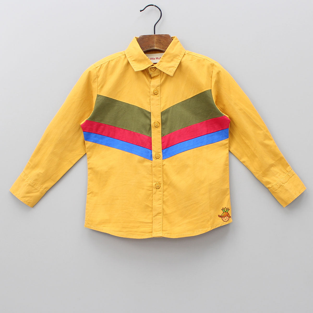 Three Shade Stripes Shirt